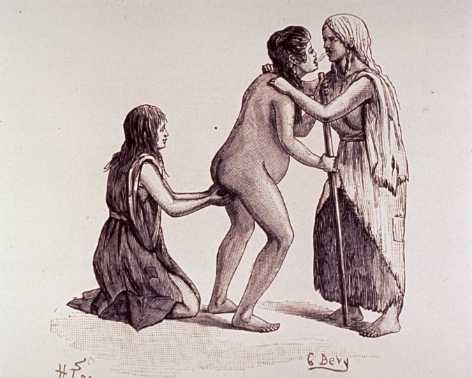 Kiowa standing birth, G Devy, Witkowski